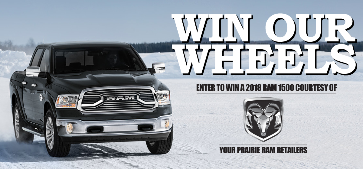 Win Our Wheels 2018!
